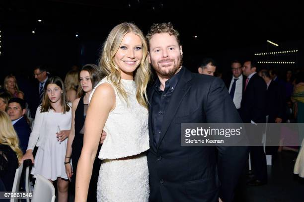 Honorees Gwyneth Paltrow and Sean Parker attend UCLA Mattel Children's Hospital presents Kaleidoscope 5 on May 6 2017 in Culver City California