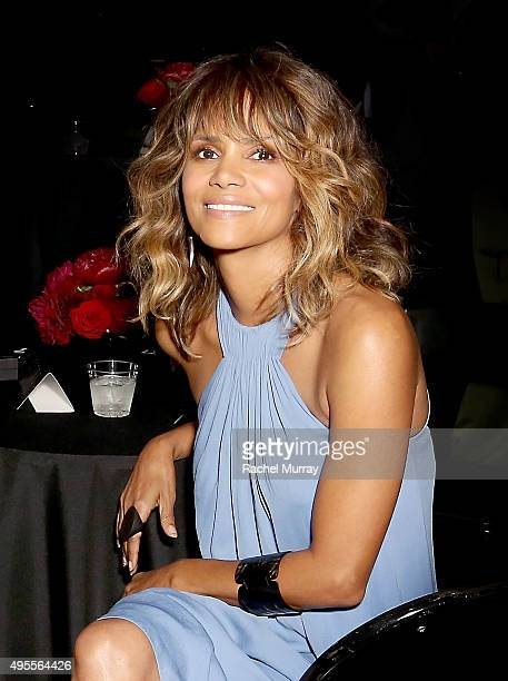 Honorees Halle Berry attends the Black Women of Bond Tribute at the California African American Museum on November 3 2015 in Los Angeles California
