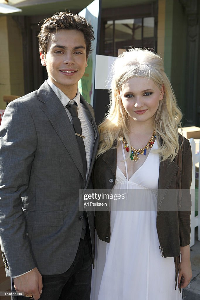 Honorees <a gi-track='captionPersonalityLinkClicked' href=/galleries/search?phrase=Jake+T.+Austin&family=editorial&specificpeople=709221 ng-click='$event.stopPropagation()'>Jake T. Austin</a> (L) and <a gi-track='captionPersonalityLinkClicked' href=/galleries/search?phrase=Abigail+Breslin&family=editorial&specificpeople=226628 ng-click='$event.stopPropagation()'>Abigail Breslin</a> attend Variety's Power of Youth presented by Hasbro, Inc. and generationOn at Universal Studios Backlot on July 27, 2013 in Universal City, California.