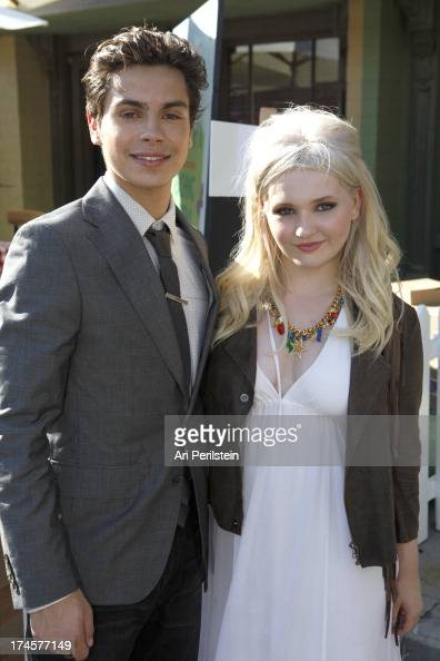 Honorees Jake T Austin and Abigail Breslin attend Variety's Power of Youth presented by Hasbro Inc and generationOn at Universal Studios Backlot on...