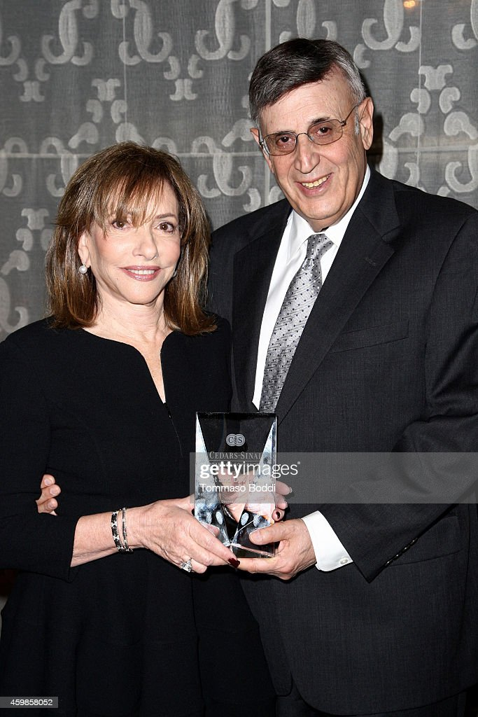 Honorees Janet Polack and David Polack attend the CedarsSinai Board of Governors 2014 annual Gala held at the Beverly Wilshire Four Seasons Hotel on...