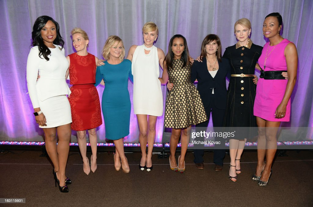 Honorees <a gi-track='captionPersonalityLinkClicked' href=/galleries/search?phrase=Jennifer+Hudson&family=editorial&specificpeople=234833 ng-click='$event.stopPropagation()'>Jennifer Hudson</a>, <a gi-track='captionPersonalityLinkClicked' href=/galleries/search?phrase=Elizabeth+Banks&family=editorial&specificpeople=202475 ng-click='$event.stopPropagation()'>Elizabeth Banks</a>, <a gi-track='captionPersonalityLinkClicked' href=/galleries/search?phrase=Amy+Poehler&family=editorial&specificpeople=228430 ng-click='$event.stopPropagation()'>Amy Poehler</a>, <a gi-track='captionPersonalityLinkClicked' href=/galleries/search?phrase=Charlize+Theron&family=editorial&specificpeople=171250 ng-click='$event.stopPropagation()'>Charlize Theron</a>, <a gi-track='captionPersonalityLinkClicked' href=/galleries/search?phrase=Kerry+Washington&family=editorial&specificpeople=201534 ng-click='$event.stopPropagation()'>Kerry Washington</a>, <a gi-track='captionPersonalityLinkClicked' href=/galleries/search?phrase=Amy+Pascal&family=editorial&specificpeople=207083 ng-click='$event.stopPropagation()'>Amy Pascal</a> and <a gi-track='captionPersonalityLinkClicked' href=/galleries/search?phrase=Nicole+Kidman&family=editorial&specificpeople=156404 ng-click='$event.stopPropagation()'>Nicole Kidman</a> and host <a gi-track='captionPersonalityLinkClicked' href=/galleries/search?phrase=Aisha+Tyler&family=editorial&specificpeople=202262 ng-click='$event.stopPropagation()'>Aisha Tyler</a> attend Variety's 5th Annual Power of Women event presented by Lifetime at the Beverly Wilshire Four Seasons Hotel on October 4, 2013 in Beverly Hills, California.