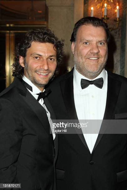 Honorees Jonas Kaufmann and Bryn Terfel attend the Sixth Annual Opera News Awards at The Plaza Hotel on April 17 2011 in New York City