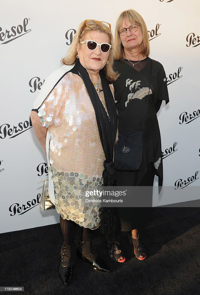 Honorees <a gi-track='captionPersonalityLinkClicked' href=/galleries/search?phrase=Julie+Weiss&family=editorial&specificpeople=760908 ng-click='$event.stopPropagation()'>Julie Weiss</a> and Jeannine Oppewall attend the Persol Magnificent Obsessions event honoring <a gi-track='captionPersonalityLinkClicked' href=/galleries/search?phrase=Julie+Weiss&family=editorial&specificpeople=760908 ng-click='$event.stopPropagation()'>Julie Weiss</a> and Jeannine Oppewall at the MMI on July 10, 2013 in New York City.