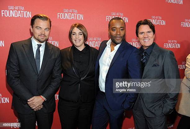 Honorees Leonardo DiCaprio Megan Ellison Lee Daniels and Rob Marshall attend the Screen Actors Guild Foundation 30th Anniversary Celebration at...
