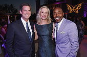 Honorees Michael Wright Betsy Beers and Will Packer attend the 14th annual Chrysalis Butterfly Ball sponsored by Audi Kayne Anderson Lauren B Beauty...