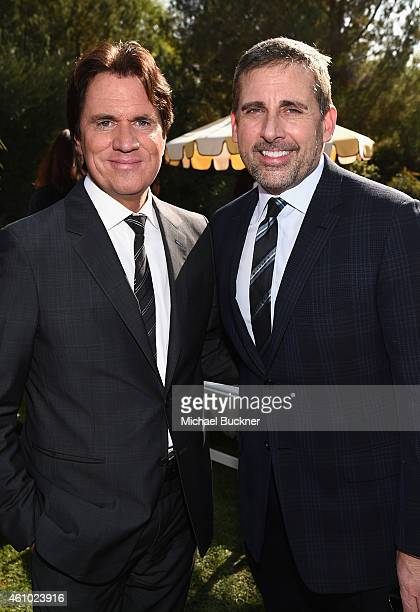 Honorees Rob Marshall and Steve Carell attend Variety's Creative Impact Awards and '10 Directors To Watch' brunch presented by Mercedes Benz at...