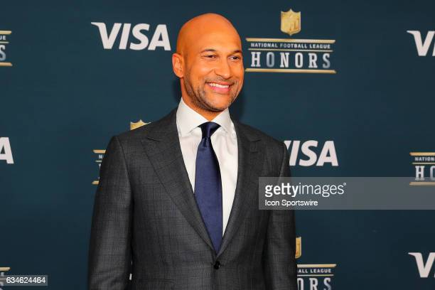 Honors host KeeganMichael Key on the Red Carpet at the 2017 NFL Honors on February 04 at the Wortham Theater Center in Houston Texas
