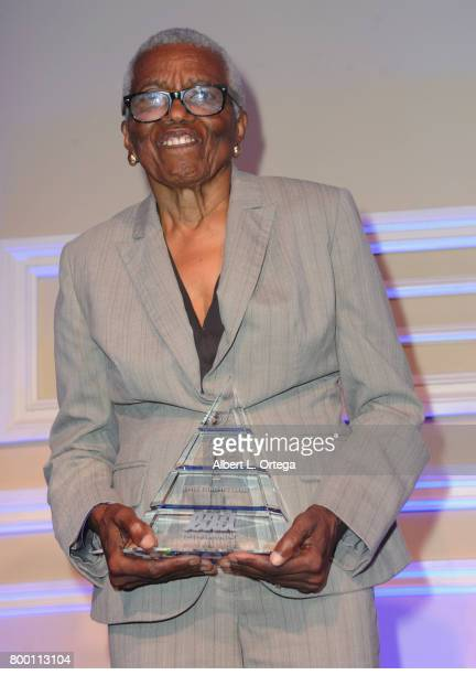 Honree Jewel ThaisWilliams attends the Entertainment AIDS Alliance's Annual EAA Wine Wisdom Vision Event Benefiting Village Health Foundation And...