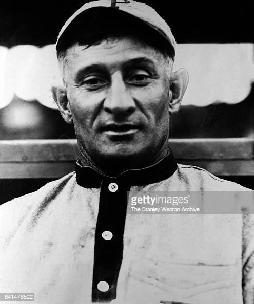 Honus Wagner shortstop for the Pittsburgh Pirates poses for a portrait circa 1910