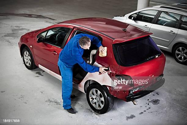 hood repair man