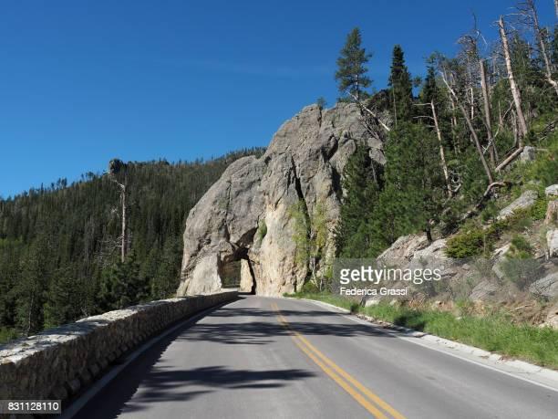 Hood Tunnel, Black Hills of South Dakota
