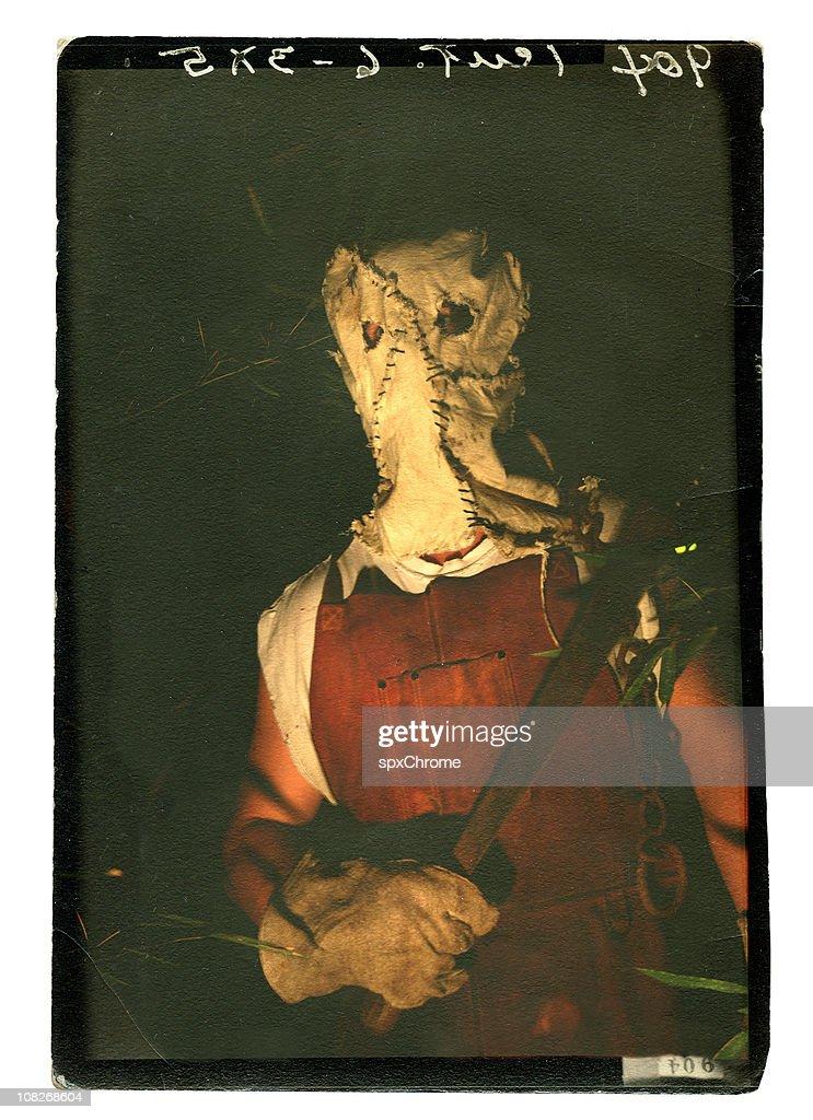 Hooded Madman : Stock Photo