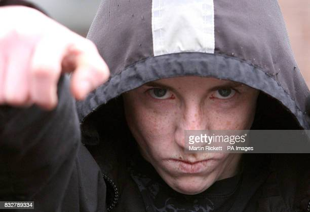 Hoodiewearing Ryan Florence who ran up behind Tory leader David Cameron on Thursday in Manchester and pretended to shoot him as Mr Cameron attacked...