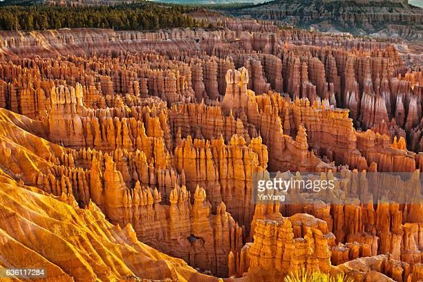 Hoodoos at Bryce Canyon National Park Utah USA Horizontal