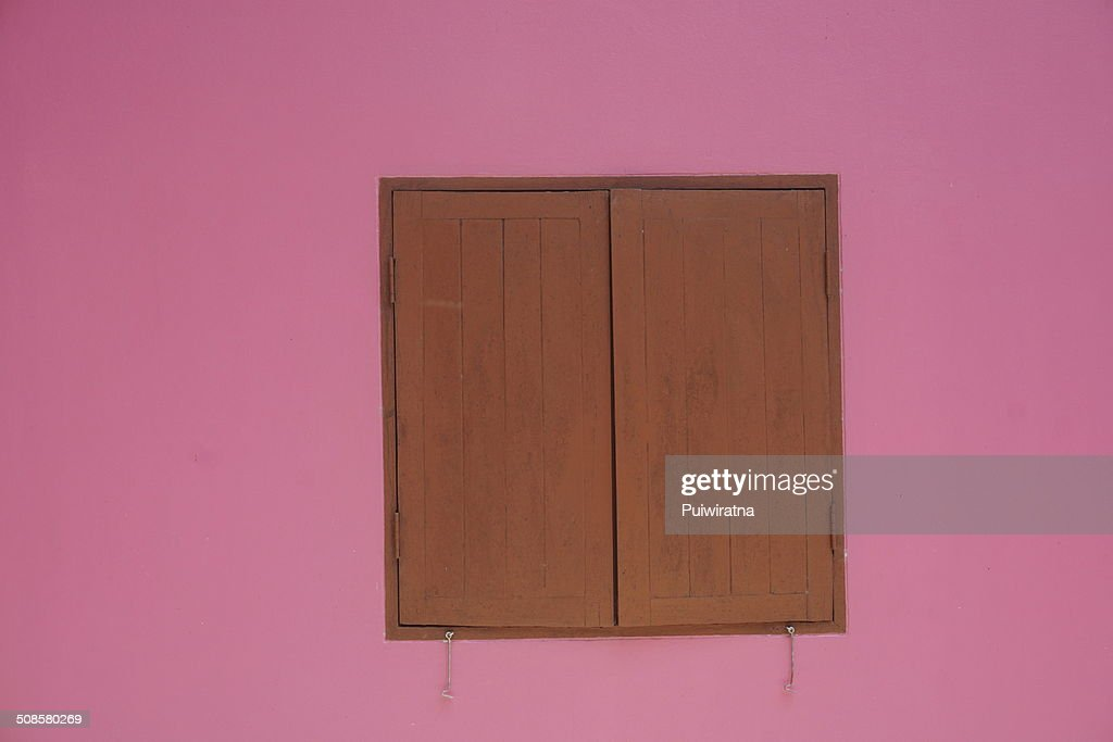 Hook and window : Stock Photo