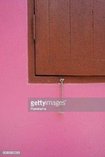 Crochet et fenêtre : Photo