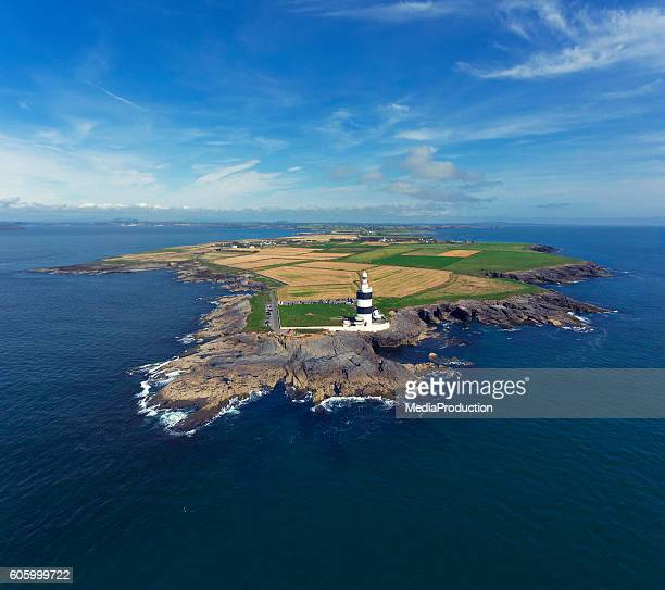 Hook peninsula and lighthouse in Ireland