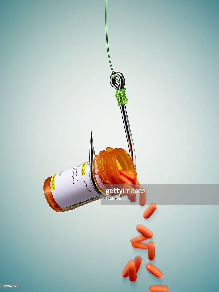 Hooked on Drugs : Stock Photo