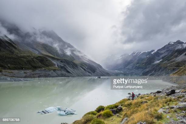 Hooker Valley Lake, New Zealand