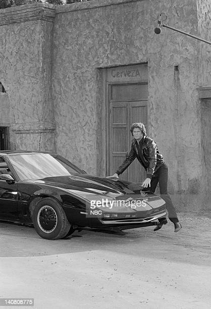RENT STROKES 'Hooray for Hollywood Part 1 2' Episodes 16 17 Aired Pictured David Hasselhoff as Michael Knight Photo by Herb Ball/NBCU Photo Bank