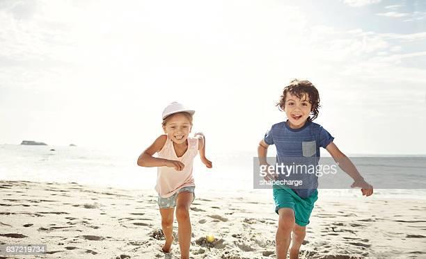 Hooray, it's a beach day!