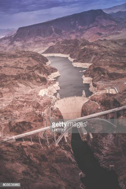 フーバー ダム空撮