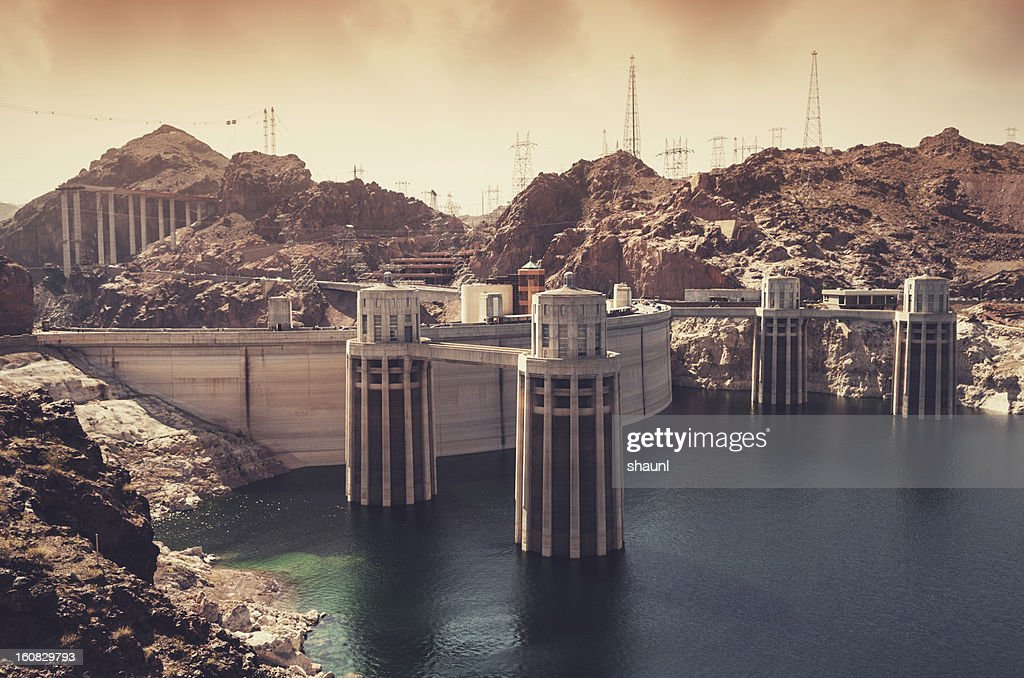Hoover Dam : Stock Photo