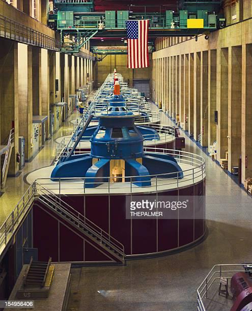 Barrage Hoover Turbines