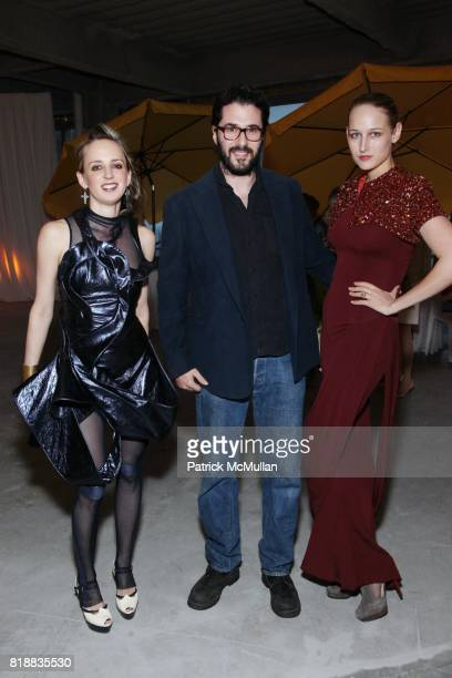 Hope Atherton Adam Kimmel and Leelee Sobieski attend New Museum Spring Gala and After Party Sponsored by Interview Magazine Melissa Shoes and Prairie...