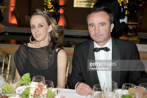 Hope Atherton and JeanPhilippe Delmas attend HAUT BRION 75th Anniversary at The Metropolitan Museum of Art on July 12 2010 in New York City