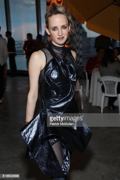 Hope Atherton attend New Museum Spring Gala and After Party Sponsored by Interview Magazine Melissa Shoes and Prairie Vodka at 7 World Trade on April...