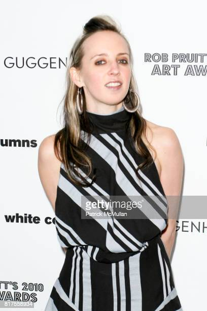 Hope Atherton attend ROB PRUITT's 2010 Art Awards at Webster Hall on December 8th 2010 in New York City