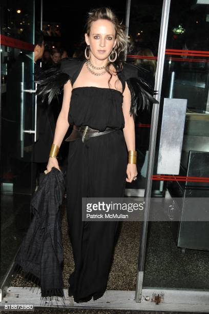 Hope Atherton attends CHANEL hosts 5th Annual TRIBECA FILM FESTIVAL Dinner INSIDE at The Odeon on April 28 2010 in New York City