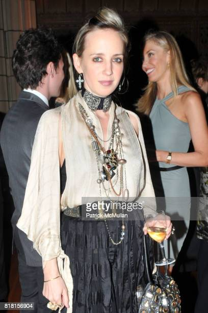 Hope Atherton attends DIA ART FOUNDATION Fall Gala 2010 at Hispanic Society of America and Church of the Intercession on November 4 2010 in New York...
