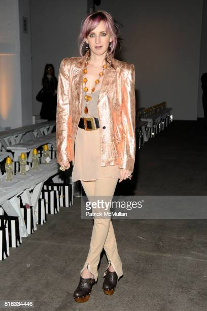 Hope Atherton attends ELISE OVERLAND Fall 2010 Collection at Exit Art on February 13 2010 in New York City