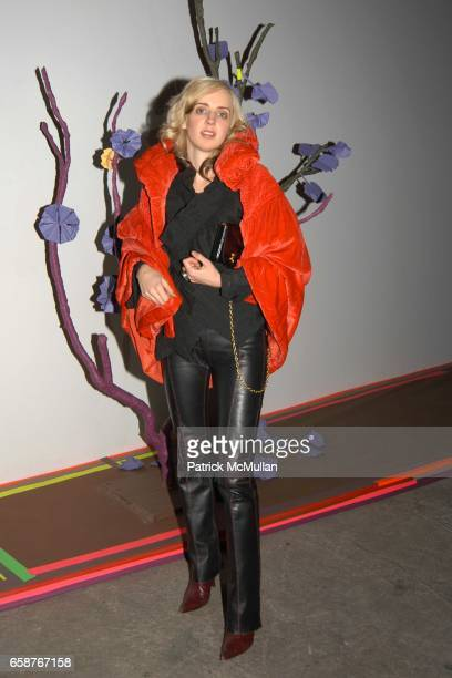 Hope Atherton attends Paper Magazine along with Svedka VodkaIntimate SitDown Dinner in a Suburban House at Deitch Projects18 Wooster Street on...