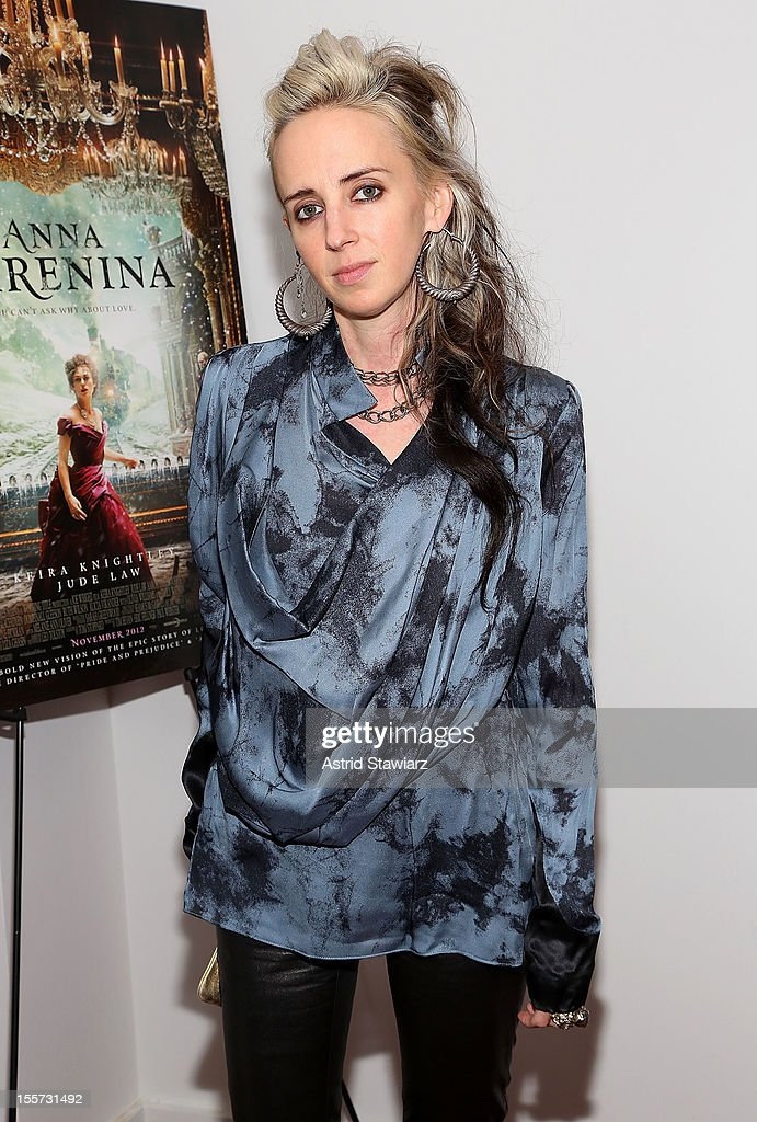 Hope Atherton attends the 'Anna Karenina' New York Special Screening at Florence Gould Hall on November 7, 2012 in New York City.