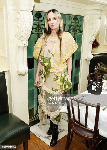 Hope Atherton attends the Saks Fifth Avenue and Simone Rocha dinner to Celebrate the Exclusive Capsule Collection at The Beatrice Inn on June 13 2017...