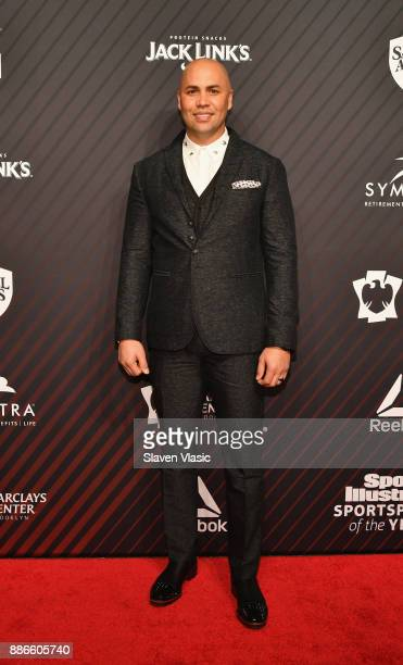 Hope Award Recipient World Series Champion Carlos Beltran attends SPORTS ILLUSTRATED 2017 Sportsperson of the Year Show on December 5 2017 at...