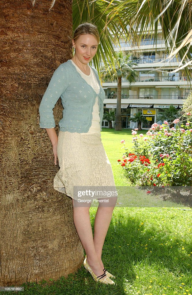 2003 Cannes Film Festival - Hope Davis Portraits