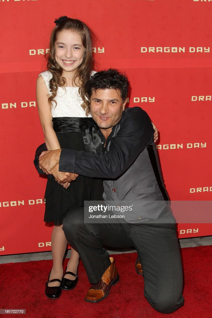 Hope Laubach and Ethan Flower attend the 'Dragon Day' Red Carpet at Downtown Independent Theatre on September 23, 2013 in Los Angeles, California.