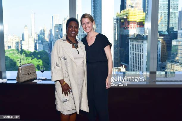 Hope Mason Rodriguez and Jane Kelly attend The Boys' Club of New York Annual Awards Dinner at Mandarin Oriental Hotel on May 17 2017 in New York City