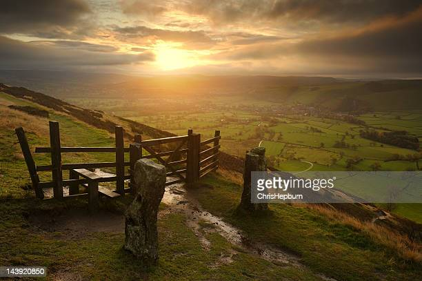 Hope Valley Sunrise, Peak District
