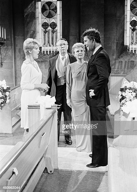 LIVES 'Hope Williams and Larry Welch Wedding' Pictured Gloria Loring as Liz Chandler Curtis Macdonald Carey as Tom Horton Frances Reid as Alice Horton