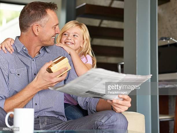 J'espère que vous voulez papa