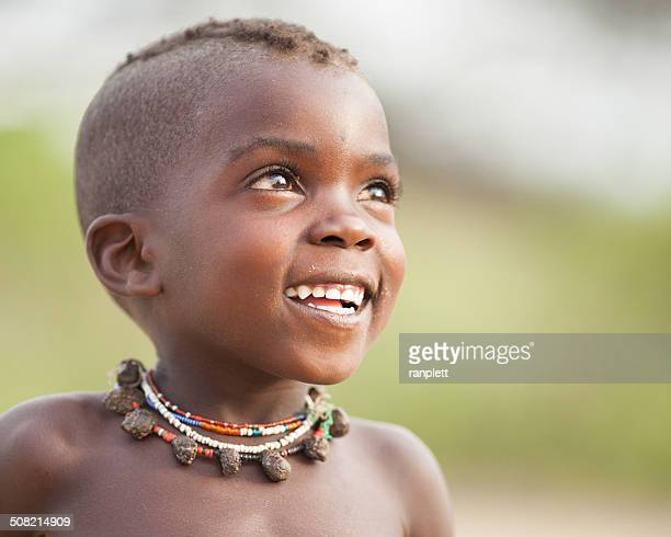 Hopeful African Boy