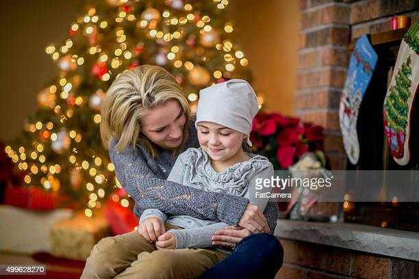 Hopeful Mother and Happy Cancer Patient