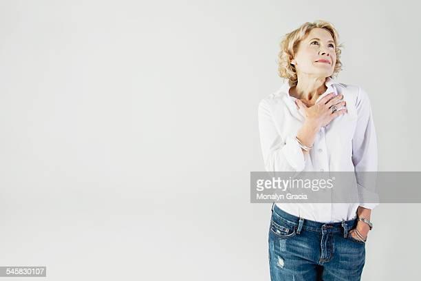 Hopeful woman