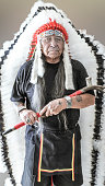 This Native American is a very respected, high-ranking elder in the Hopi community.